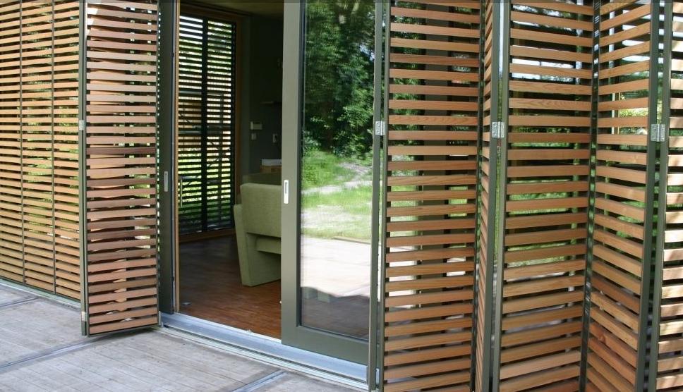 De trends op het gebied van zonwering design for delight - Moderne buitenkant indeling ...