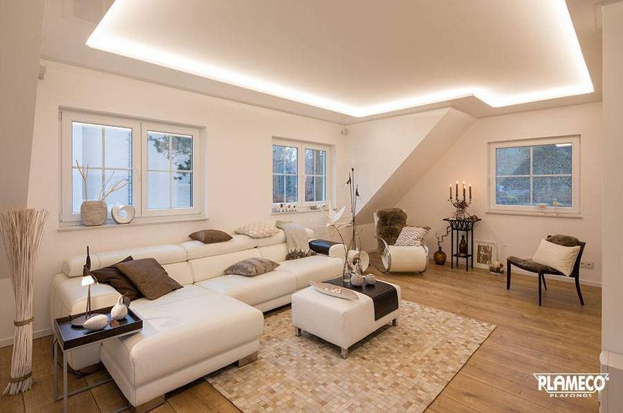 De mogelijkheden van een spanplafond in je woonkamer - Design for ...