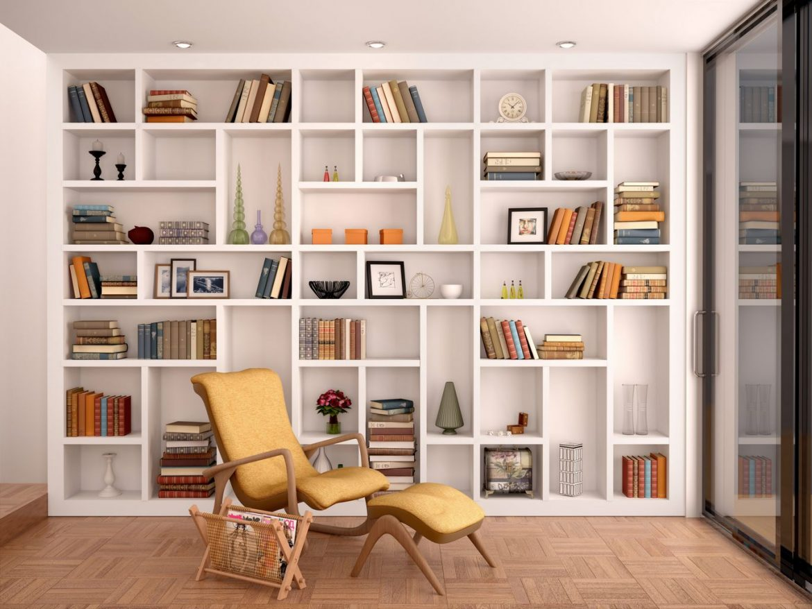 Een boekenkast in de woonkamer - Design for Delight