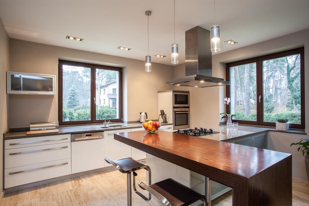 hoogglans design keuken wit